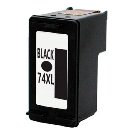HP 74 XL  Negro Alternativo