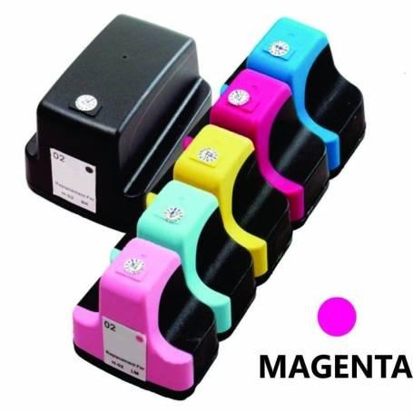 HP 02 Magenta Alternativo