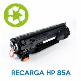 Recarga de toner HP 85A CE285A
