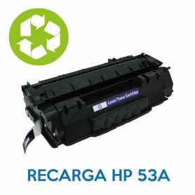 Recarga de toner HP 53A Q7553A