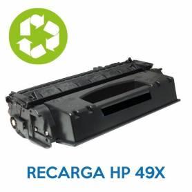 Recarga de toner HP 49X Q5949X