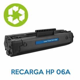 Recarga de toner HP 06A C3906A