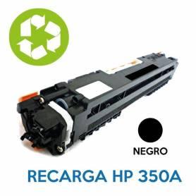 Recarga de toner HP CE350A 130A NEGRO