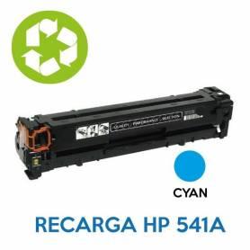 Recarga de toner HP CBE541A 125A CYAN