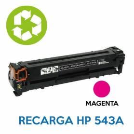 Recarga de toner HP CB543A 125A MAGENTA