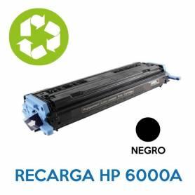 Recarga de toner HP Q6000A 124A NEGRO