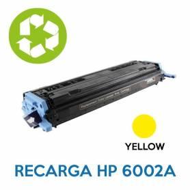 Recarga de toner HP Q6002A 124A YELLOW