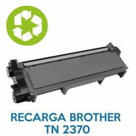 Recarga de toner BROTHER TN 2370