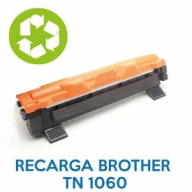 Recarga de toner BROTHER TN 1060