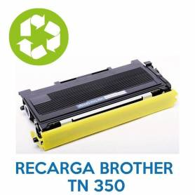 Recarga de toner BROTHER TN 350