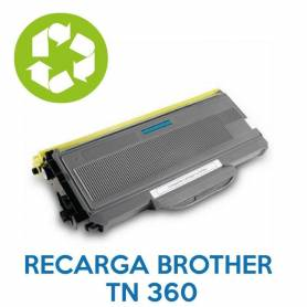 Recarga de toner BROTHER TN 360