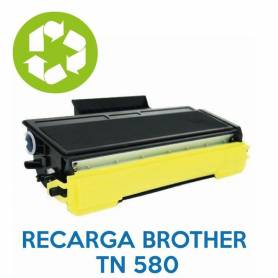 Recarga de toner BROTHER TN 580