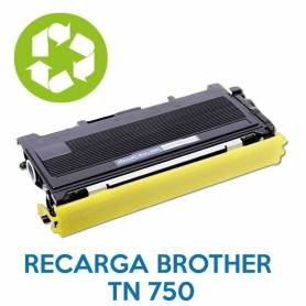 Recarga de toner BROTHER TN 750