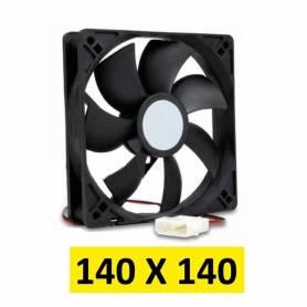 Cooler para gabinetes de PC medidas 140 x 140