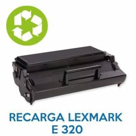 Recarga de toner LEXMARK E320