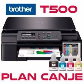 Multifuncion Brother DCP-T500 PLAN CANJE sistema continuo