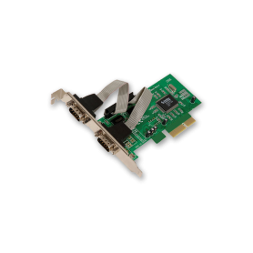 Placa PCI EXPRESS a SERIAL POR 2 PUERTOS Noganet