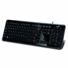 Teclado Genius Multimedia SlimStar i250