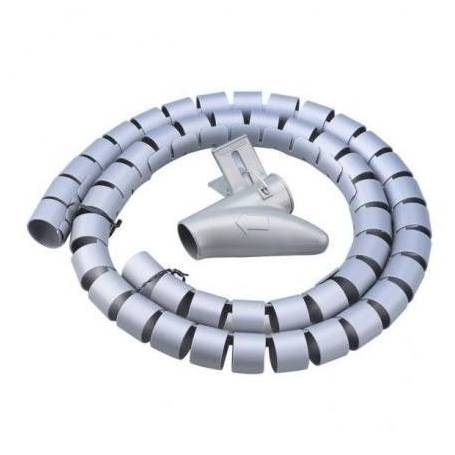 Organizador de cables en espiral