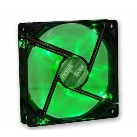 Gaming Cooler 120x120 Green LED 4 LED 1200 rpm Noganet