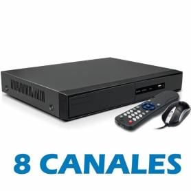 DVR 8 CANALES FULL-HD, THD-7208H SUDVISION