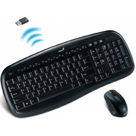Teclado y Mouse Wireless multimedia KB-8000X Genius