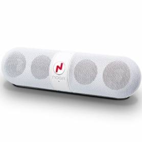 Parlante Portátil Bluetooth NG-P77 WHITE Noganet