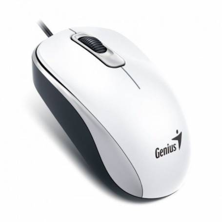 Mouse Optico Genius DX-110 USB WHITE
