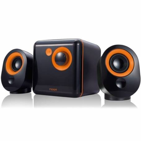 Parlantes 2.1 Noga ML-3300C BLACK /YELLOW