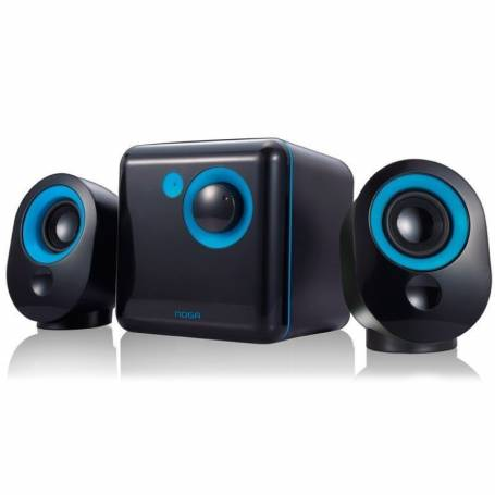 Parlantes 2.1 Noga ML-3300C BLACK /ORANGE