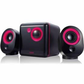 Parlantes 2.1 Noga ML-3300C BLACK /RED