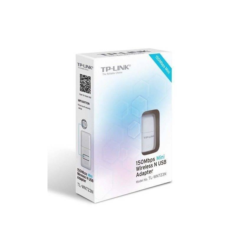 Mini Adaptador USB Inalámbrico N de 150Mbps TL-WN723N