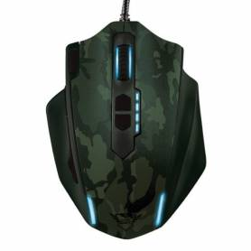 Mouse Gamer TRUST GXT155 Camuflaje Green