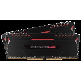 Memoria 16GB DDR4 3200 MHZ  Corsair Vengeance LED (Red)