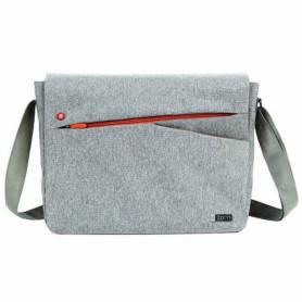 "Morral notebook hasta 15.6"" ZM-150G Gray/Orange"