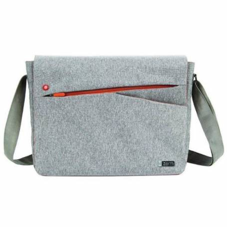 "Morral notebook hasta 15.6"" ZM-150G Gray/Orange"