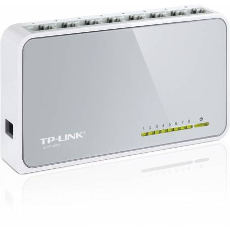 TL-SF1008D Switch de Escritorio de 8 Puertos de 10/100Mbps