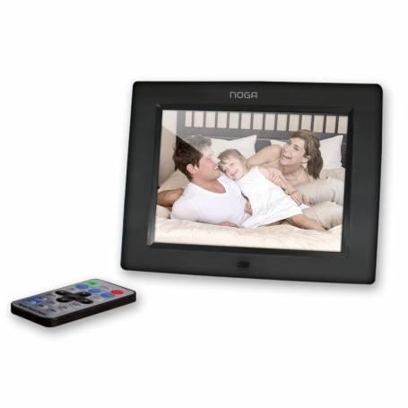 """Portaretrato Digital LCD 7"""" Multimedia Noganet NGP-7017NG"""