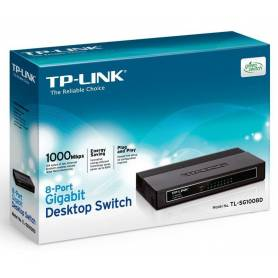 TL-SG1008D Gigabit Switch de 8 puertos de escritorio