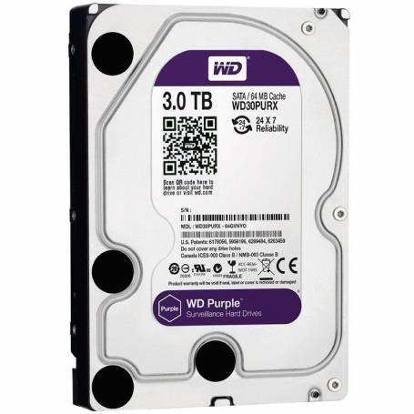 Western Digital Purple 3TB 64MB SATA 3
