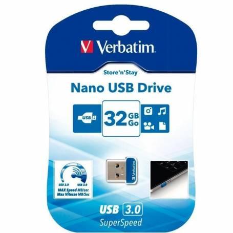 Pendrive Nano 32Gb USB 3.0 Verbatim 98710