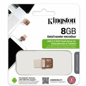 Pendrive Kingston microDuo OTG 8gb DataTraveler