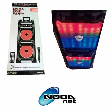 Noga BLUETOOTH ONE PARTY Karaoke Noga HPW-K81 Parlantes 35W