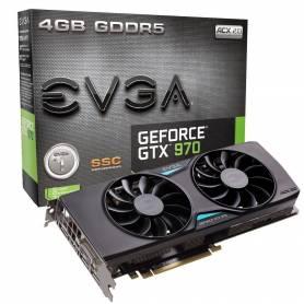 Placa de Video EVGA GEFORCE GTX970 4GB GDDR