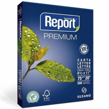 Resma REPORT carta  Multifuncion de75 grs