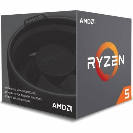 Procesador AMD Ryzen™ 5 1600, Socket AM4