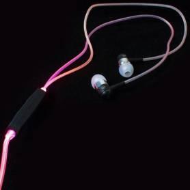 Auriculares In Ear LED GLOW Manos Libres - luminosos NOGA NG-GL178